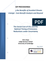 The Social Cost of CO2