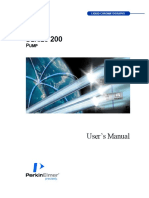 Manual for Perkin Elmer Series 200 pump