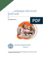 Pengembangan Nilai Moral Pada Anak