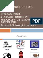 IMP of IPRs