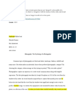 ethnography rough draft
