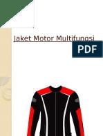 Jaket Motor Multifungsi