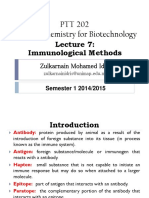 Lecture 7 Immunological Methods
