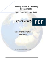 2006 ES Land Transportation Update