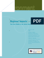 Regional Impacts of Climate Change