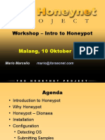 Workshop - Intro to Honeypot (Malang 10oct16)