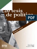 Tesis de Politica
