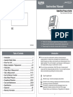 BPM-265W Blood Pressure Monitor