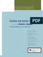 Marine EcosystemsCoastal and Marine Ecosystems and Global Warming