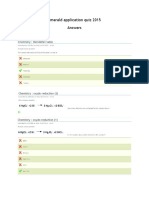 Emerald Application Quiz 2015