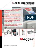 Megger Test and Measurments Power Catalogue