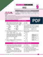 NCO Sample Paper 2016-17