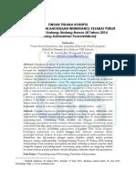 Penyalah Gunaan Wewenang Dalam Prespektif Undang Undang Administrasi Pemerintahan