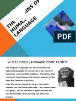 The Origins of Human Language(Robert)