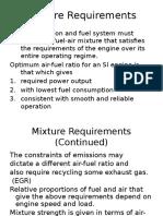 Mixture Requirements