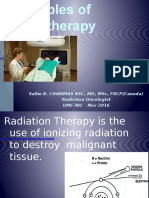 Principles of Radiotherapy 2016