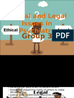 Ethics and Legal