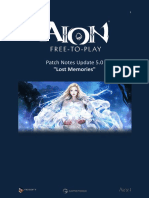 Aion 5.0 Patch Notes
