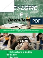 LOE LOMCE Bachilleratobn