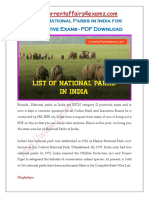 CA4Examz- National Parks in India.pdf