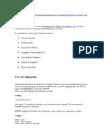 Programacion Avanzada de Archivos en Lotes