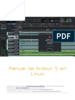Ardour 5 Manual ES (Linux)