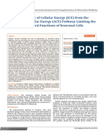 Estudio Insuficiencia Energetica Como Causa Del Cáncer