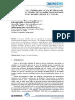 Importância e Influência Da Iniciação Científica Para Discentes de Instituições de Ensino Técnico e Superior Um Estudo de Caso Do Campus III Do Cefet-mg