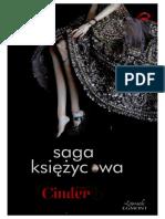 Cinder- Meyer Marissa Saga Księżycowa