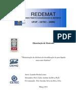 Dissertação Em Dessulfuração No Reator Kanbara Aciaria
