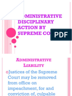 46417285 Administrative Disciplinary Action by Supreme Court