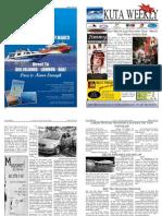 "Kuta Weekly-Edition 186 ""Bali""s Premier Weekly Newspaper"""