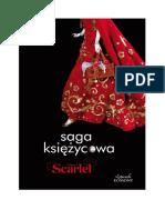 Scarlet- Meyer Marissa Saga Księżycowa