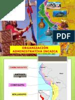 ADNISTRACION INCAICA