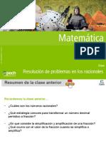 Clase 4 MT21 Resolución de problemas en los racionales 2016.pptx