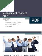 Management Concept
