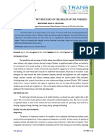 2. Ijtft-impact of Textile Wet Processes on the Health of the Workers
