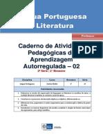 Caderno Ativ Regulada 2º Bim Professor
