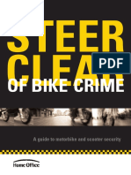 Steer Clear of Bike Crime