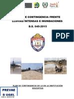 PLAN DE CONTINGENCIA LLUVIAS E INUNDACIONES 2015.docx