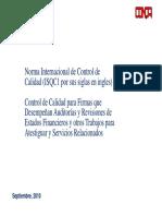 ISQC1 Modo de Compatibilidad