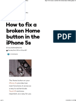 How to Fix a Broken Home Button in the iPhone 5s _ IMore
