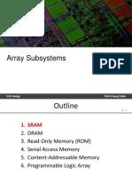 8 Array Subsystems