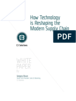 How Technology is Reshaping the Modern Supply Chain White Paper