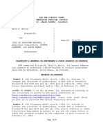 McCoy v. City of Fairview Heights et al - Case 10-L-0075 Answer to Defendants First Request to Produce