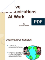 19115856 Effective Communication at Work Place