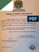 Artur Victoria - Ordem Do Merito Aeronautico
