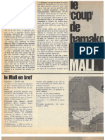 Mali : Le Coup d'Etat de Bamako