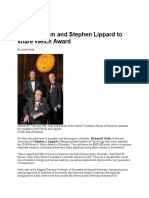 Richard Holm and Stephen Lippard to Share Welch Award