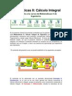 Matemáticas II Cálculo Integral